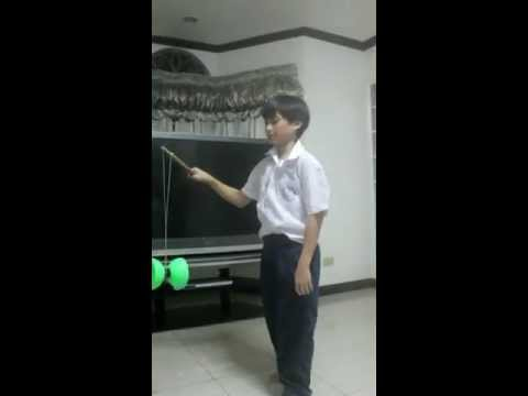 Chinese YOYO trick part 1