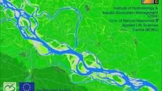 Danube river landscape Vienna/Lobau 1726-2001 (Donau-Auen Wien/Lobau 1726-2001)