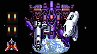 Soldier Blade (PC Engine) All Bosses (No Damage)