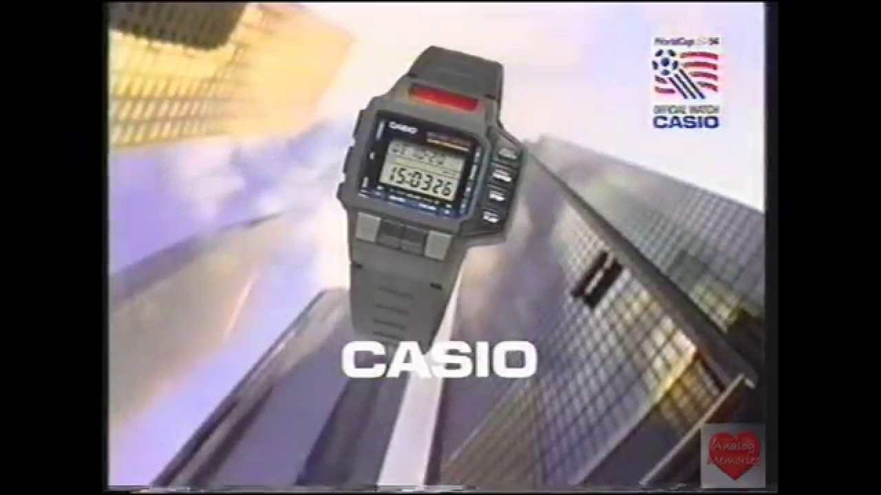 Casio Remote Control Watch Television Commercial 1994