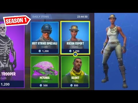 Fortnite 571 Days Ago... Recon Expert Item Shop