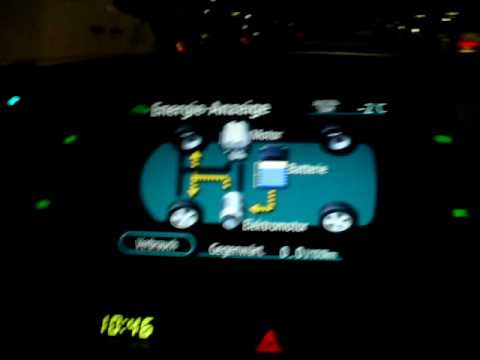 2007 Toyota Prius Driving In Ev Mode Electric Vehicle Phev Winter