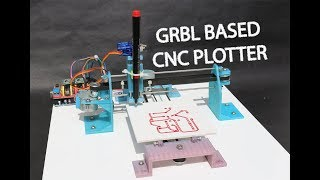 How to make GRBL+arduino based CNC plotter PCB ink plotter