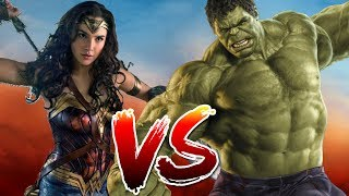 Wonder Woman VS Hulk | Who Wins?