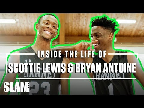 Scottie Lewis & Bryan Antoine CAN'T STOP LAUGHING AT EACH OTHER 😂   SLAM Inside the Life