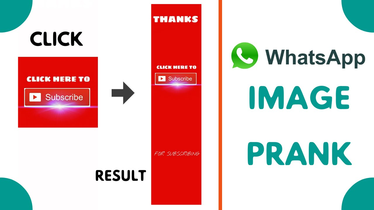 How To Make Whatsapp Prank IMAGES | FAST METHOD
