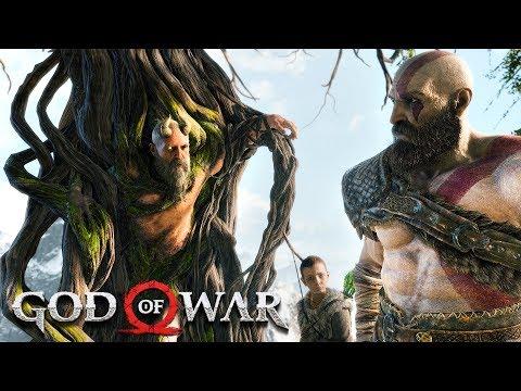 GOD OF WAR PS4 WALKTHROUGH, PART 4!! (God of War PS4 Gameplay)