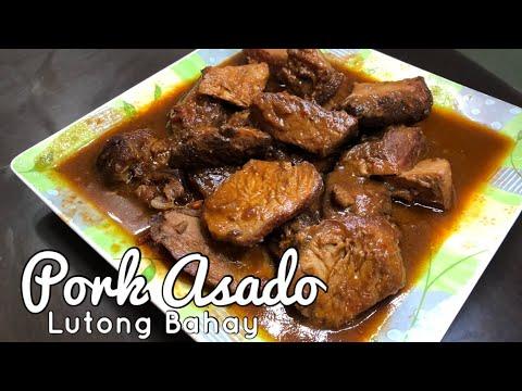 POrk Asado | How To Cook Pork Asado Recipes | Asadong Baboy | POrk Asado