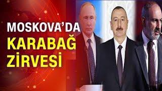 Putin, Aliyev ve Paşinyan ile bir araya gelecek! Moskova'da kritik zirve