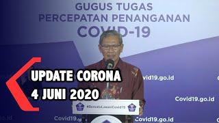 Update Corona 4 Juni 2020: 28.818 Positif. 8.892 Sembuh. 1.721 Meninggal
