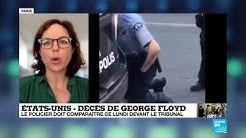 Mort de George Floyd : le policier Derek Chauvin doit comparaître devant le tribunal