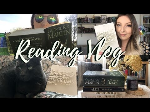 WEEKLY READING VLOG #24 O.W.L.s Magical Readathon Week 3- escape room, sun & losing momentum