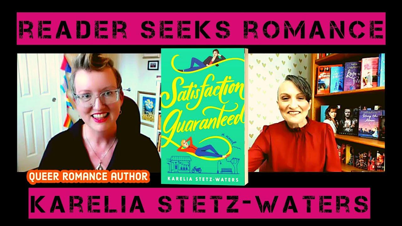 Reader Seeks Romance 💕 Ep.#42 (6/29/21)⭐Queer Rom-Com Author Karelia Stetz-Waters