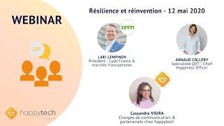 Webinar    Résilience et réinvention