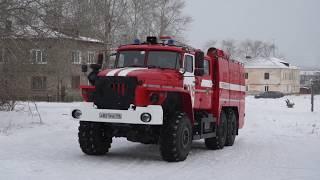 Профилактический рейд провели пожарные совместно с  ВДПО