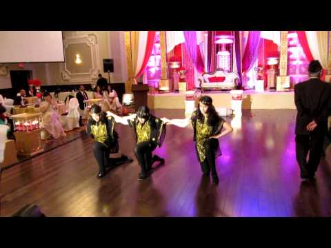 Palestinian Dabke at Pakistani Wedding
