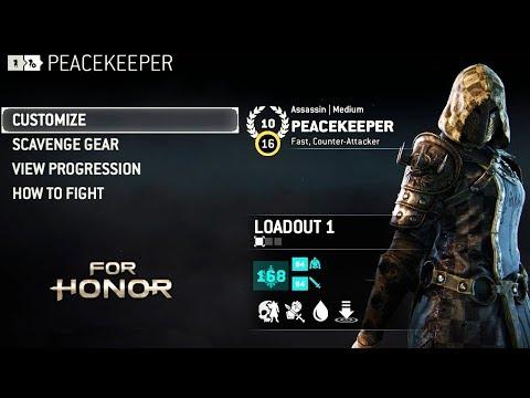 [Customization] Edgy peacekeeper + Gear Stats