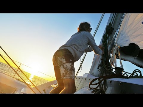The First Day of the Rest of Our Lives! (Sailing ACTUAL La Vagabonde) Ep. 91
