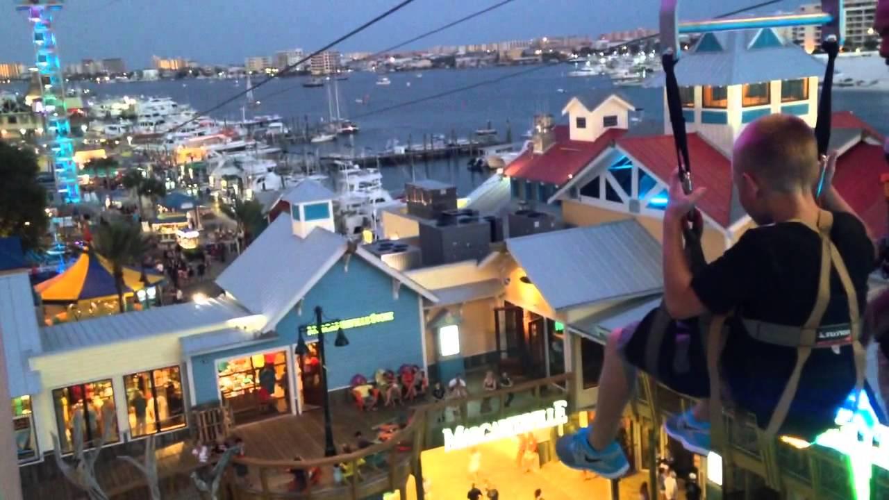 Cam On The Harborwalk Zip Line
