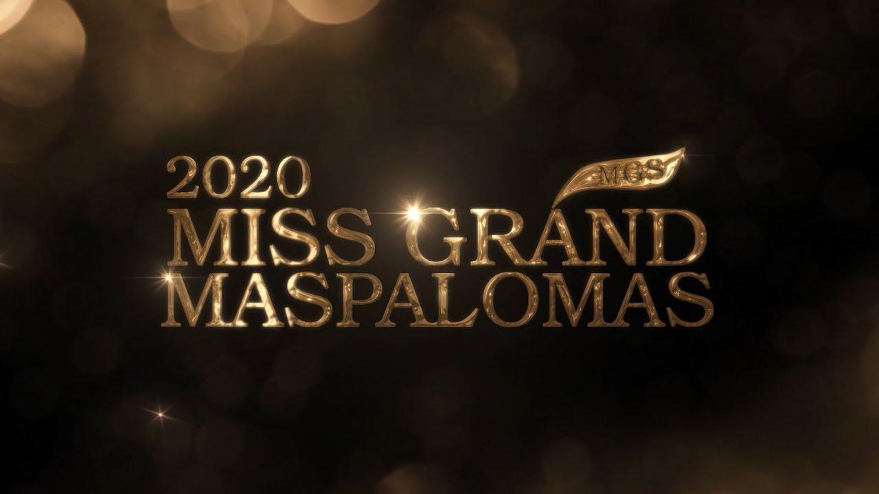 Miss Grand Maspalomas 2020