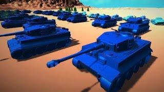Total Tank Simulator Gameplay - TABS with Tanks?