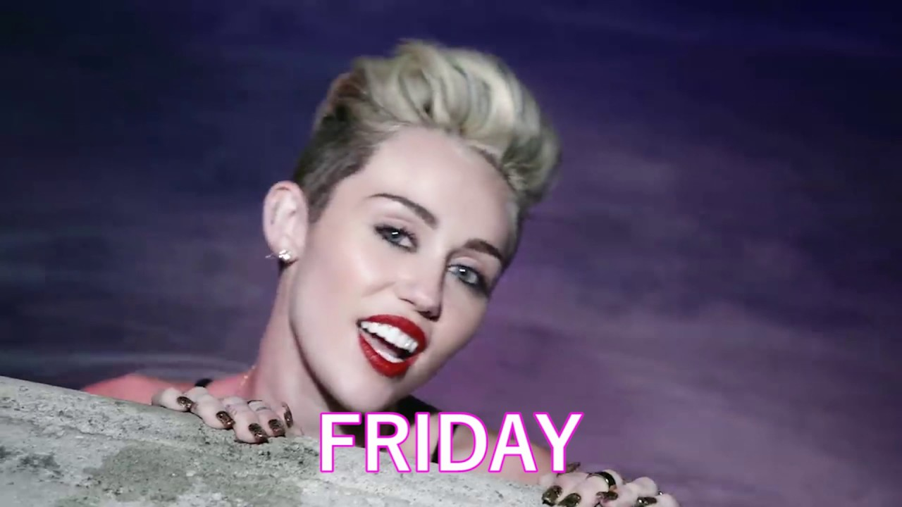 your week as told by miley cyrus galore tv youtube
