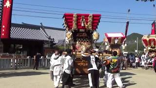 平成30年庄田八幡神社祭礼(安住寺)