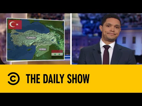 Turkish Forces Drive Deeper Into Syria   The Daily Show With Trevor Noah
