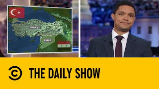 Turkish Forces Drive Deeper Into Syria | The Daily Show With Trevor Noah