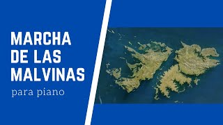 Marcha de las Malvinas - Piano YouTube Videos