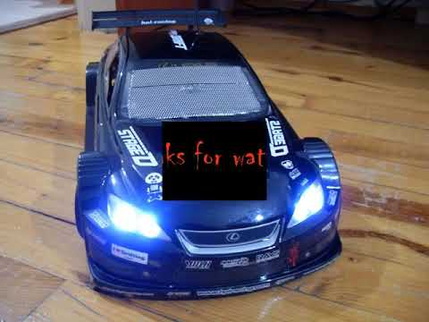 Hpi RS4 With Ez-Start and custom exhaust