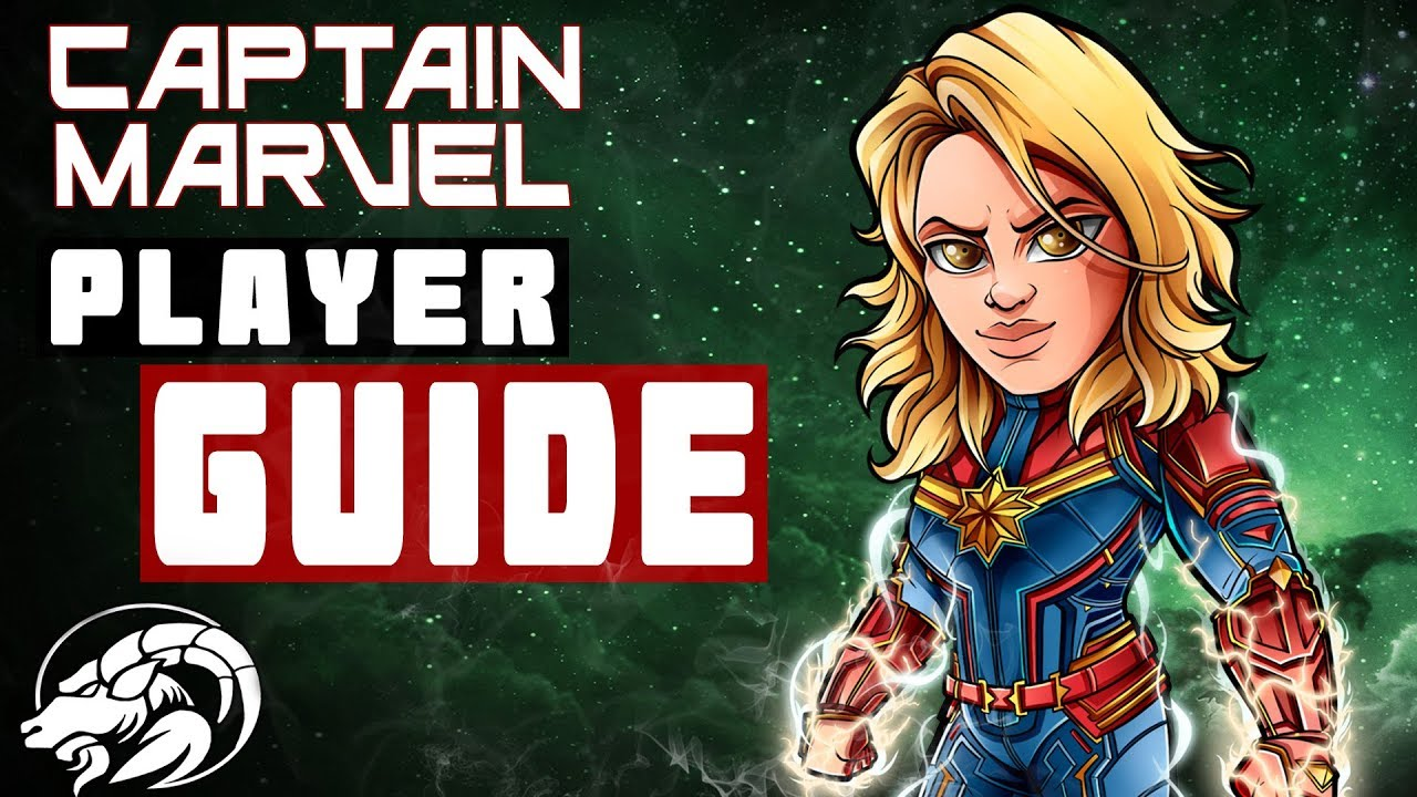 Captain Marvel Player Guide Movie Version | Marvel Contest Of Champions