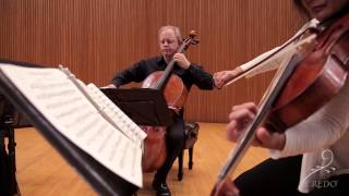 Beethoven String Quartet in c minor, Op. 18 No. 4, 1 - Arianna Quartet at Credo