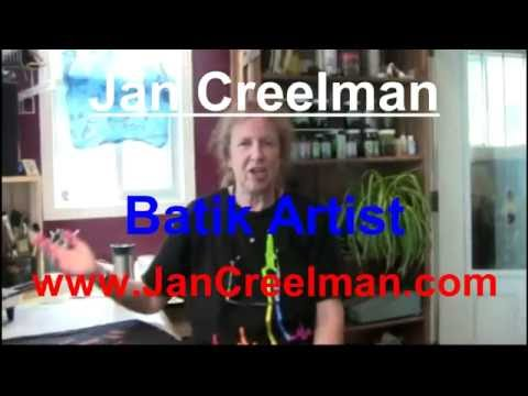 Jan Creelman -Batik Artist