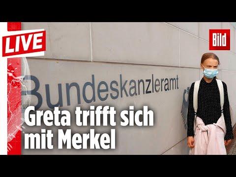 🔴 Greta Thunberg spricht über ihr Treffen mit Merkel | BILD Live