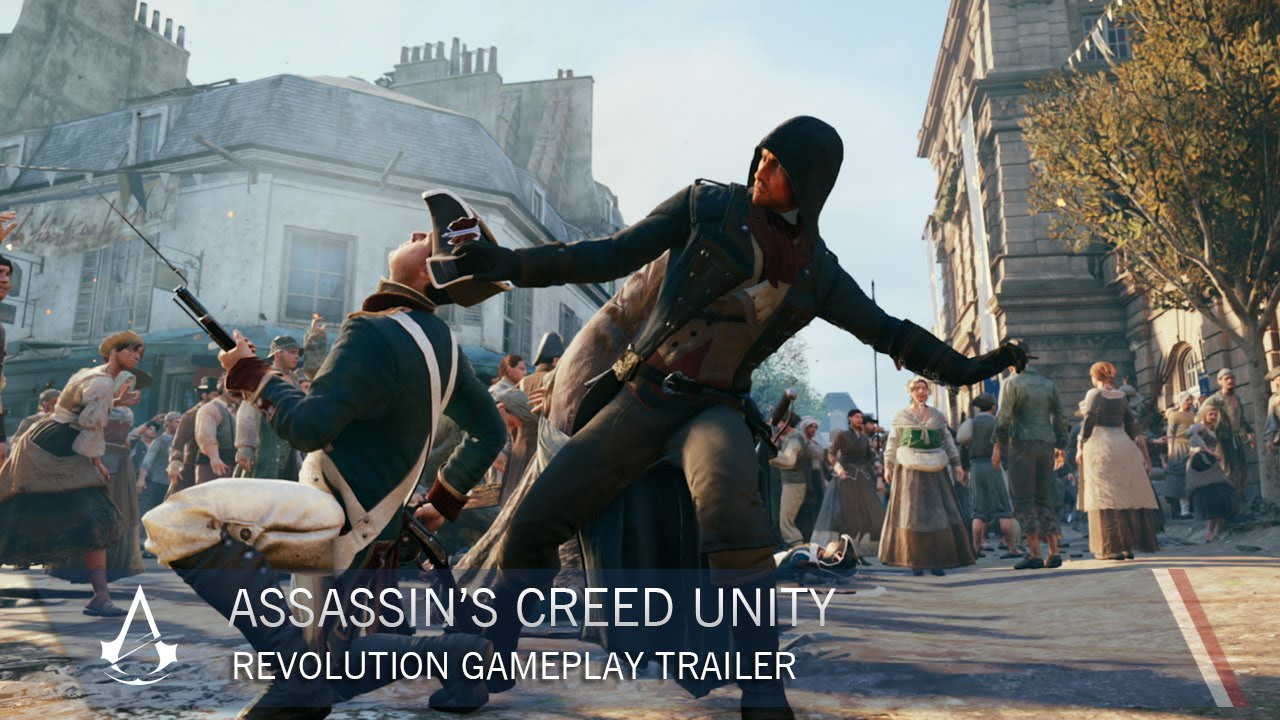 Assassin S Creed Unity Revolution Gameplay Trailer Ubisoft Na