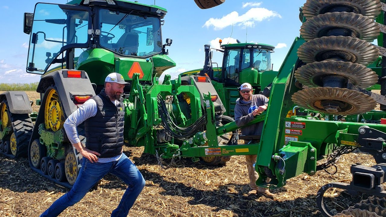 Full On Double Tillage All The Way Youtube