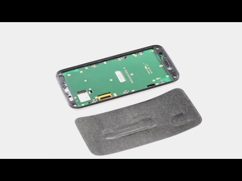Motorola Moto G3 LCD Supporting Frame Sticker Install Guide