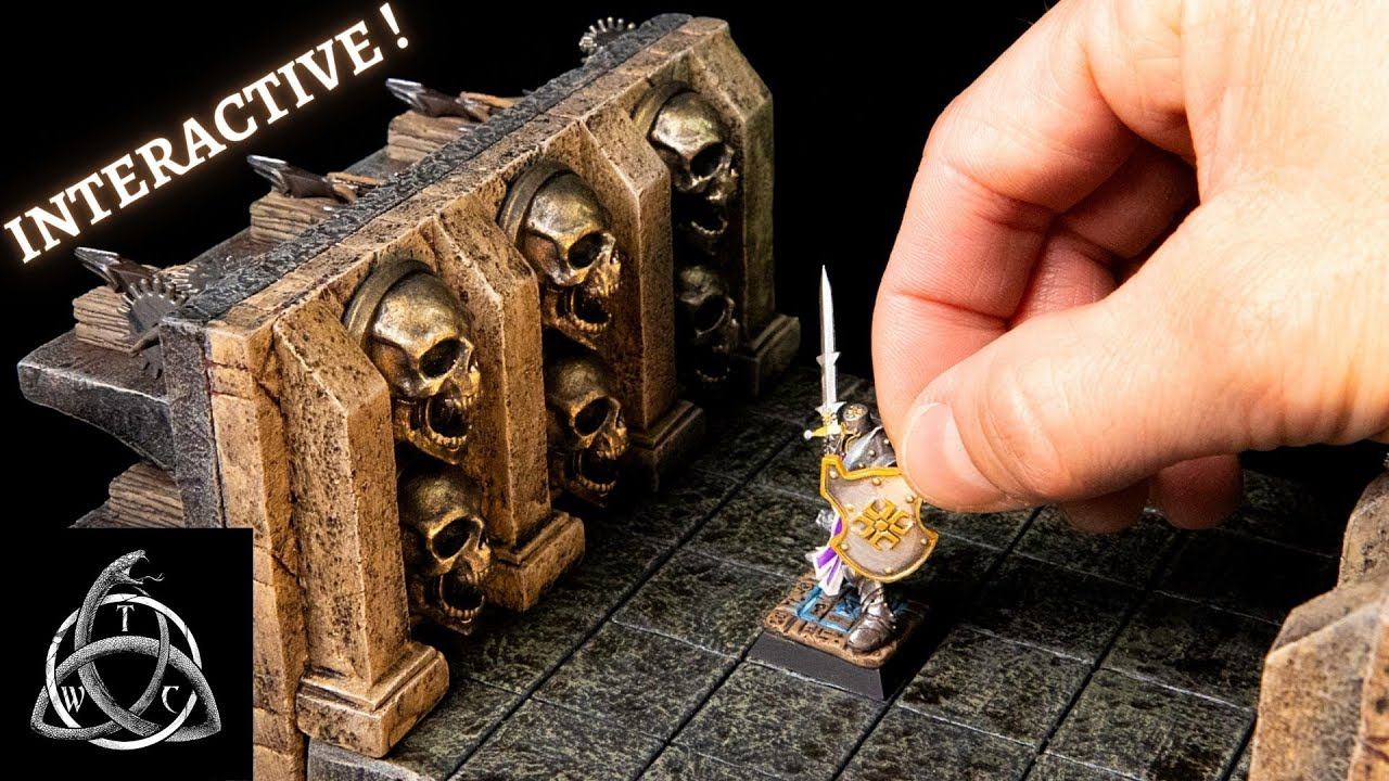Interactive Trap for Dungeons and Dragons