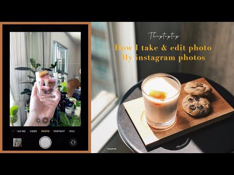 How To ถ่ายรูปสวยด้วยมือถือ +แต่งรูปด้วยแอพฟรี ขั้นตอนง่ายๆ แต่ได้รูปสวยมาก | THIPTIPTIP | MOOF49