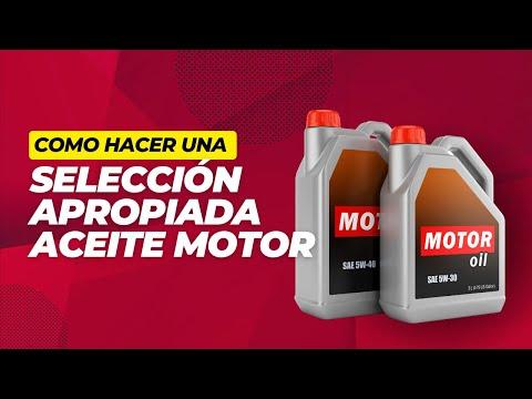 Curso Aceites y Lubricantes: Cómo seleccionar Lubricantes de Motor.