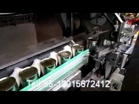 Automatic Sleeve Labeling Machine For Tin Cans