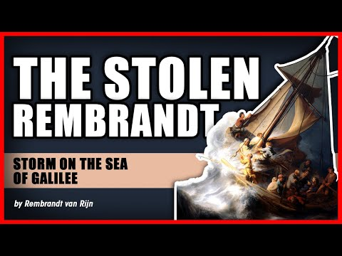The Stolen Rembrandt - Storm on the Sea of Galilee  - 1st-Art-Gallery.com
