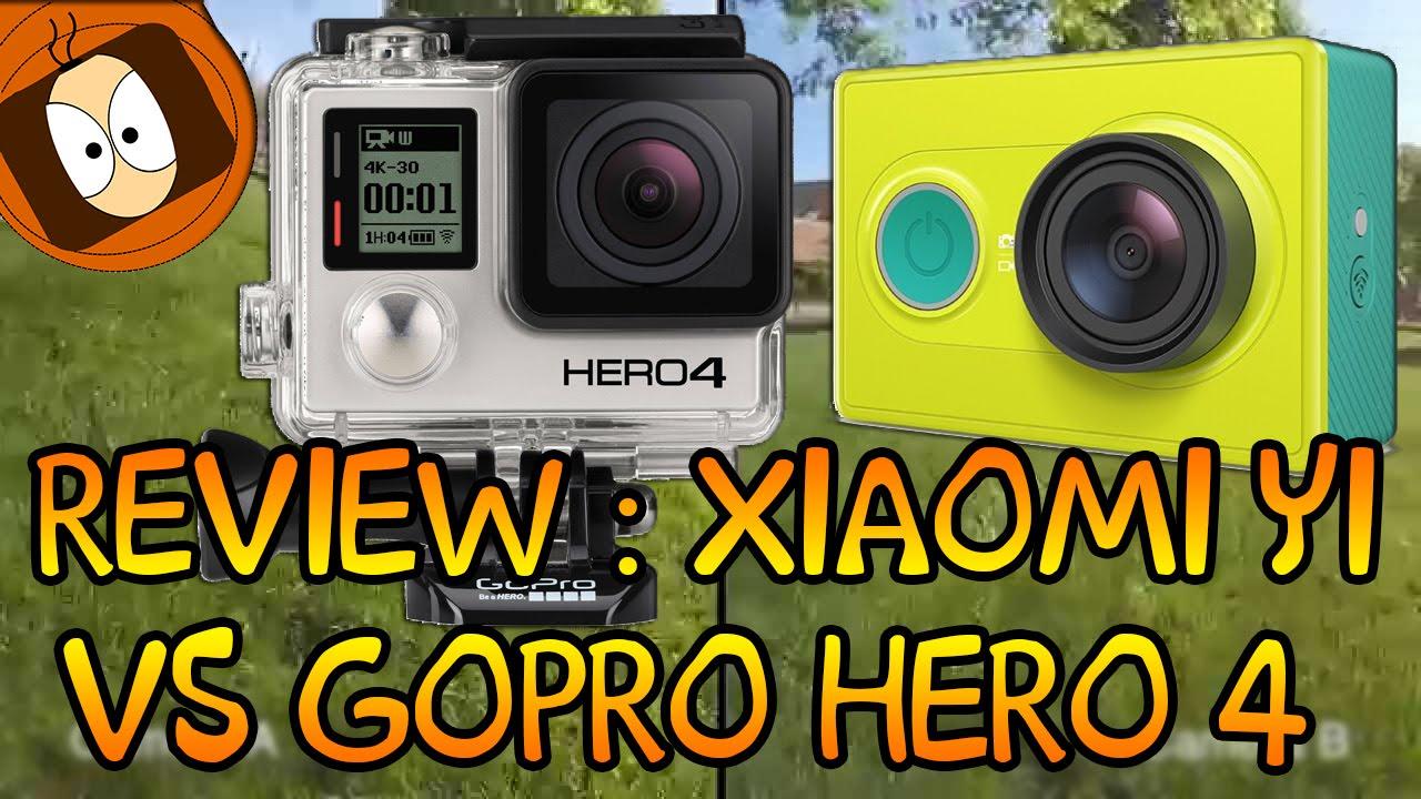 Xiaomi yi vs gopro hero action camera comparison cameralah com gopro - Test Review Xiaomi Yi Vs Gopro Hero 4 Gearbest Com