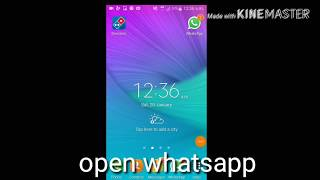 How to fixed whatsapp hang or slow problem