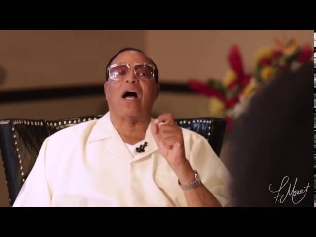 Farrakhan explains what it means to be a MAN!