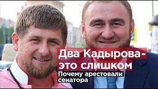 Два Кадырова - это слишком. За что арестовали сенатора?