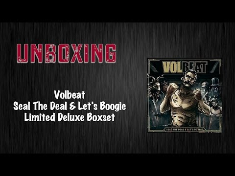 Volbeat Seal The Deal & Let's Boogie limitierte Deluxe-Boxset Unboxing