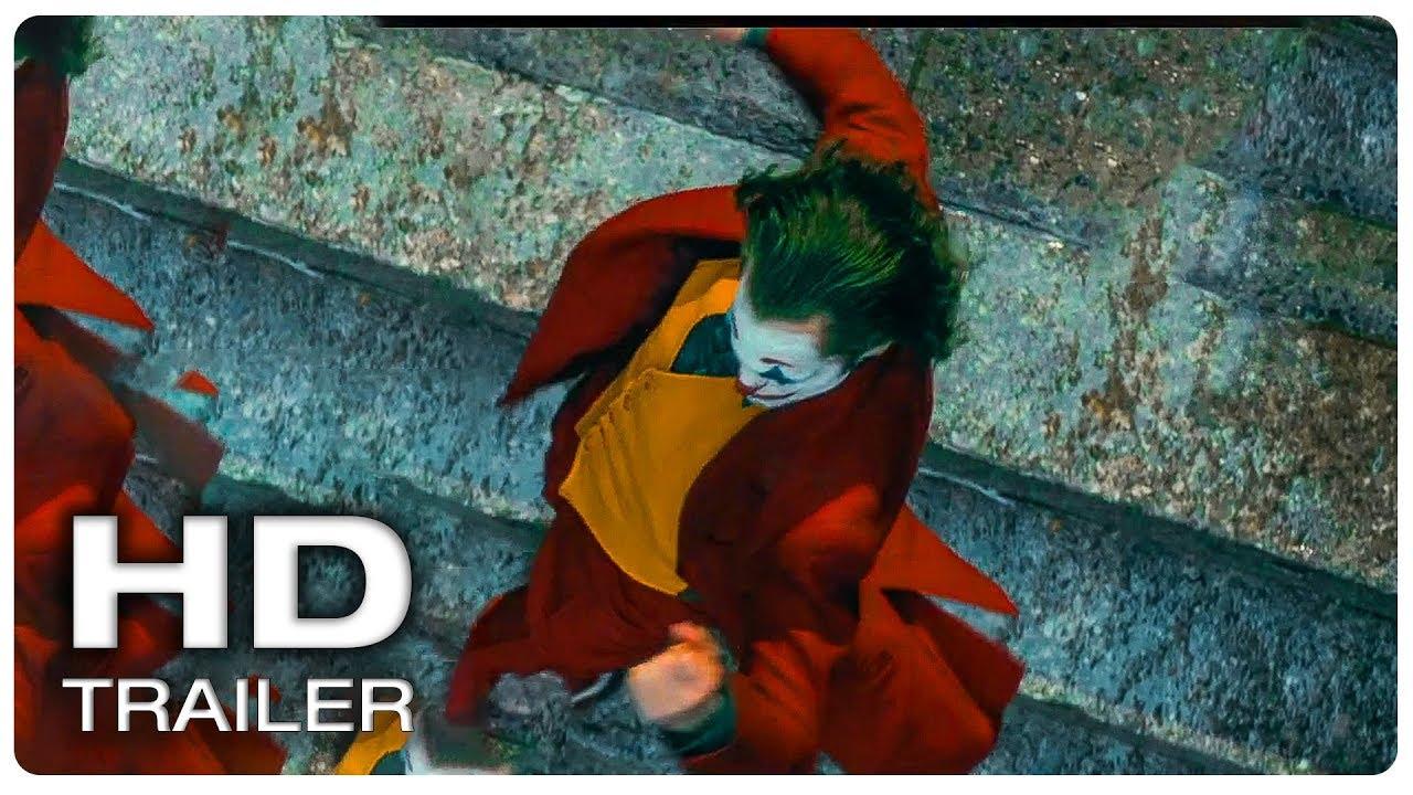 Joker Stairs Dancing Scene Joker 2019 Movie Clip Hd