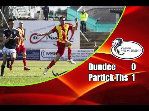 Dundee - Partick Thistle 0-1 12-05-2018 Highlights Scottish Premiership